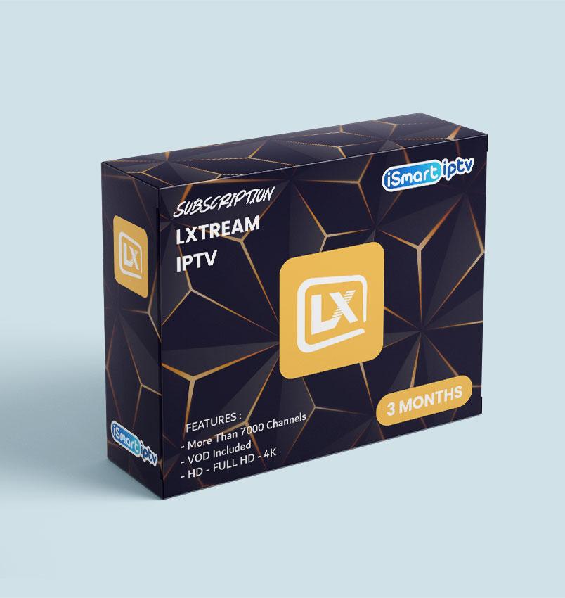 LXTREAM IPTV