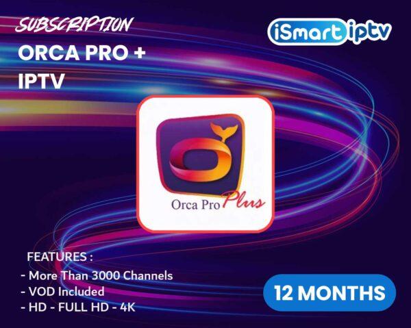 Orca Pro+ IPTV
